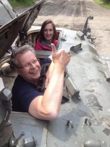 Panzer-Fahrt